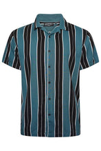 Load image into Gallery viewer, Soft Feel Vertical Stripe Shirt Green