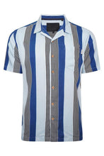 Load image into Gallery viewer, Soft Feel Vertical Stripe Shirt Lt Blue