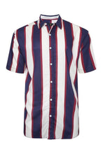 Load image into Gallery viewer, Soft Feel Vertical Stripe Shirt Navy / White