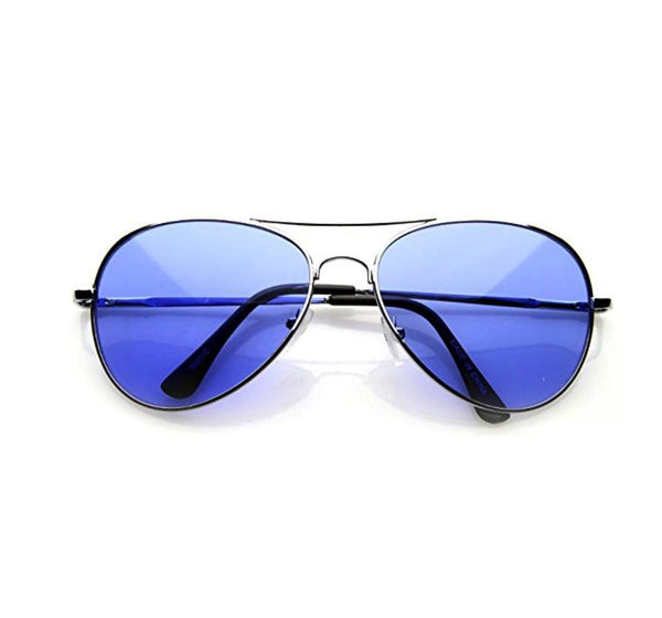 Sunglasses - Aviator Sunglasses Blue