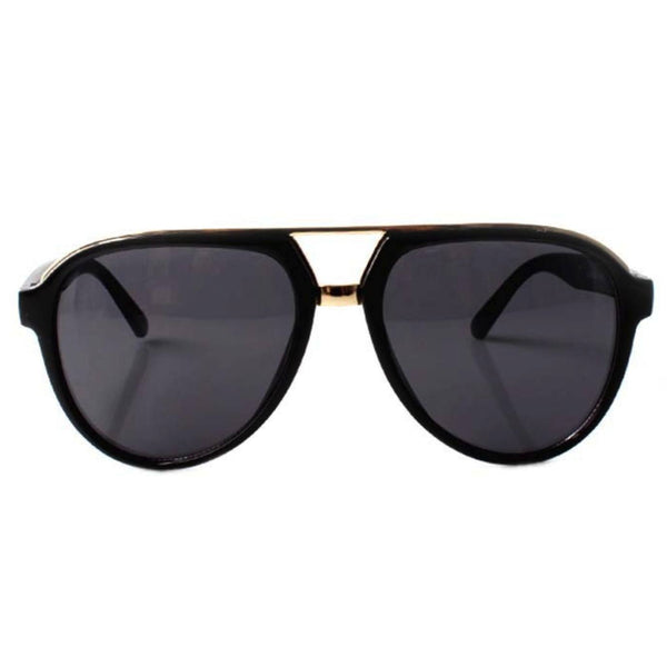Sunglasses - Brow Bar Aviators Black