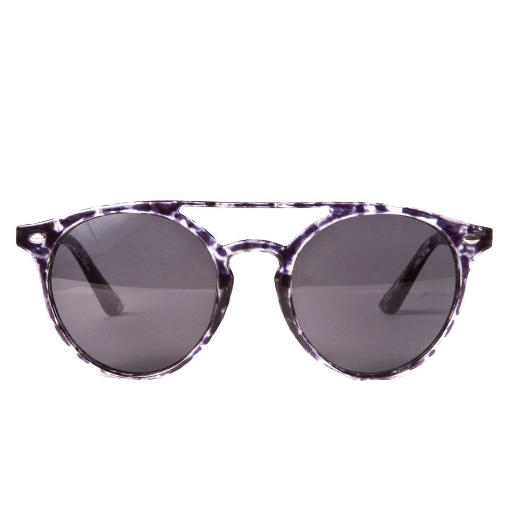 Sunglasses - Brow Bar Retro Sunglasses Black
