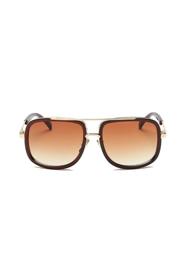 Sunglasses - Classic Brow Bar Sunglasses Brown