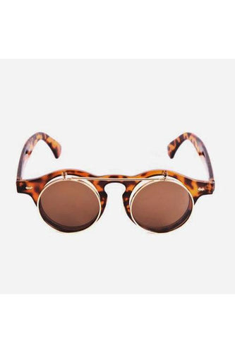 Sunglasses - Flip Sunglasses Tortoise