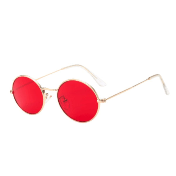Sunglasses - Round Sunglasses Red