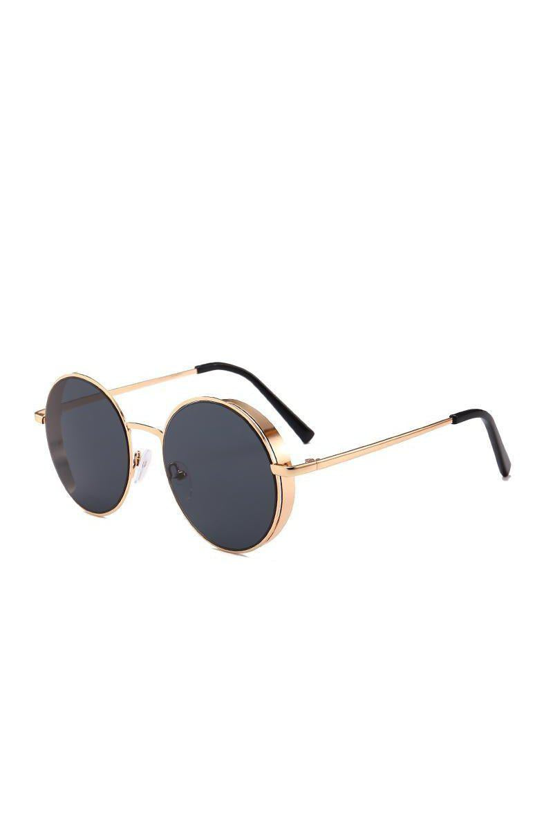 Sunglasses - Side Steam Sunglasses Gold