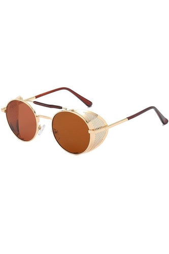 Sunglasses - Slim Grill Sunglasses Brown