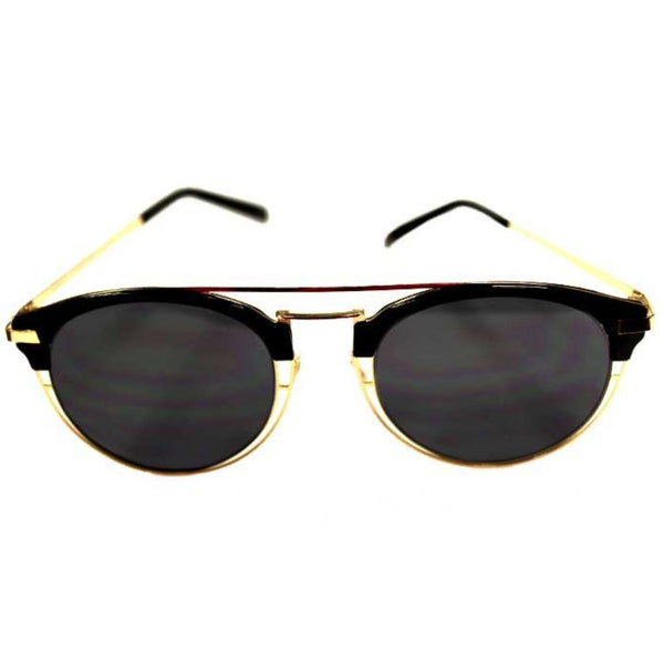 Sunglasses - Thin Brow Bar Sunglasses Gold