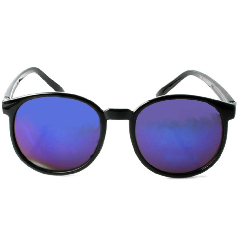Sunglasses - Thin Frame Sunglasses Blue Revo