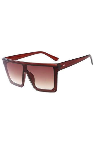 Sunglasses - Visor Sunglasses Brown