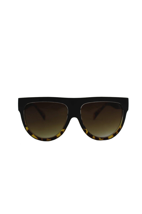 Sunglasses - Visor Sunglasses Tortoise