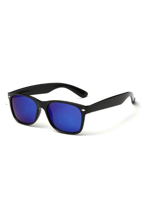 Sunglasses - Wayfarer Sunglasses Blue