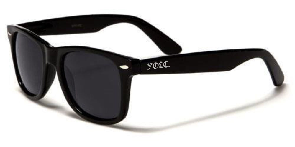 Sunglasses - YOLC. Wayfarer Sunglasses Black