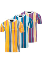 Load image into Gallery viewer, T-Shirts - 0 Stripe Signature T-Shirt Yellow