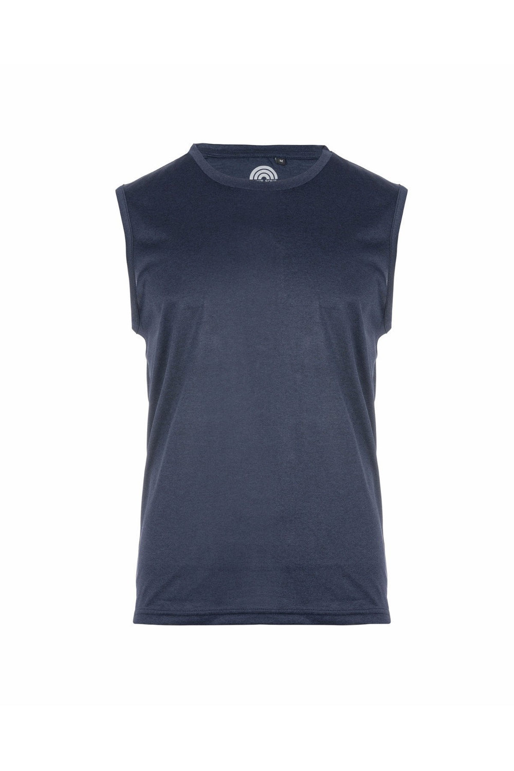 T-Shirts - Basic Muscle Fit Vest Navy