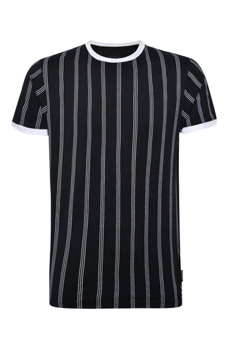T-Shirts - Black Stripe T-Shirt