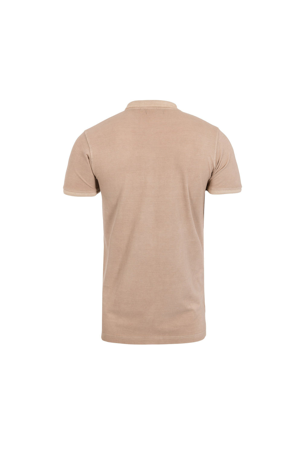 T-Shirts - Burnout Polo Light Khaki