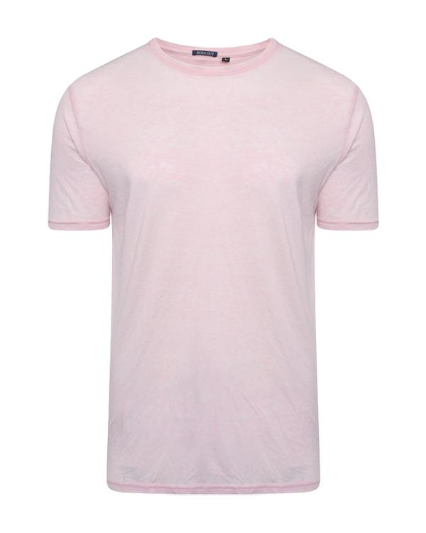T-Shirts - Burnout T-Shirt Pink