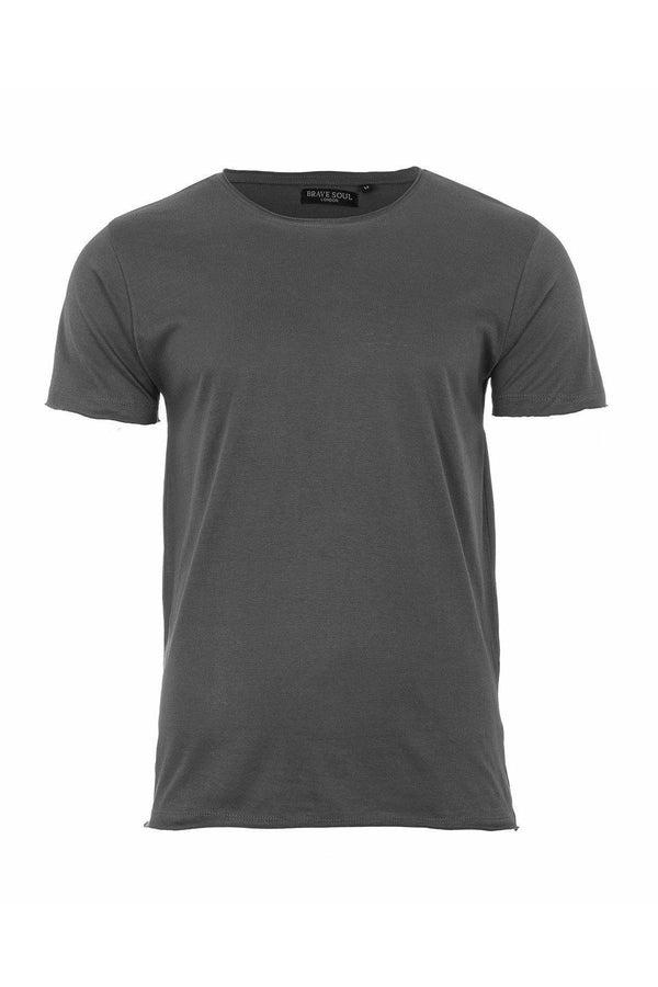T-Shirts - Cutoff T-Shirt Charcoal