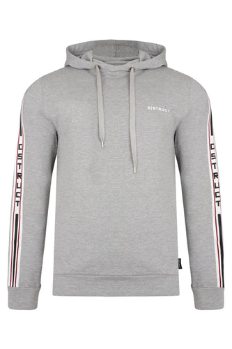 T-Shirts - DS Hoodie Grey Arm Stripe