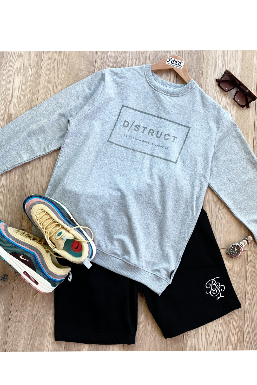 T-Shirts - DS Sweater Grey