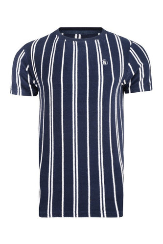 T-Shirts - DS Towelling T-Shirt Navy