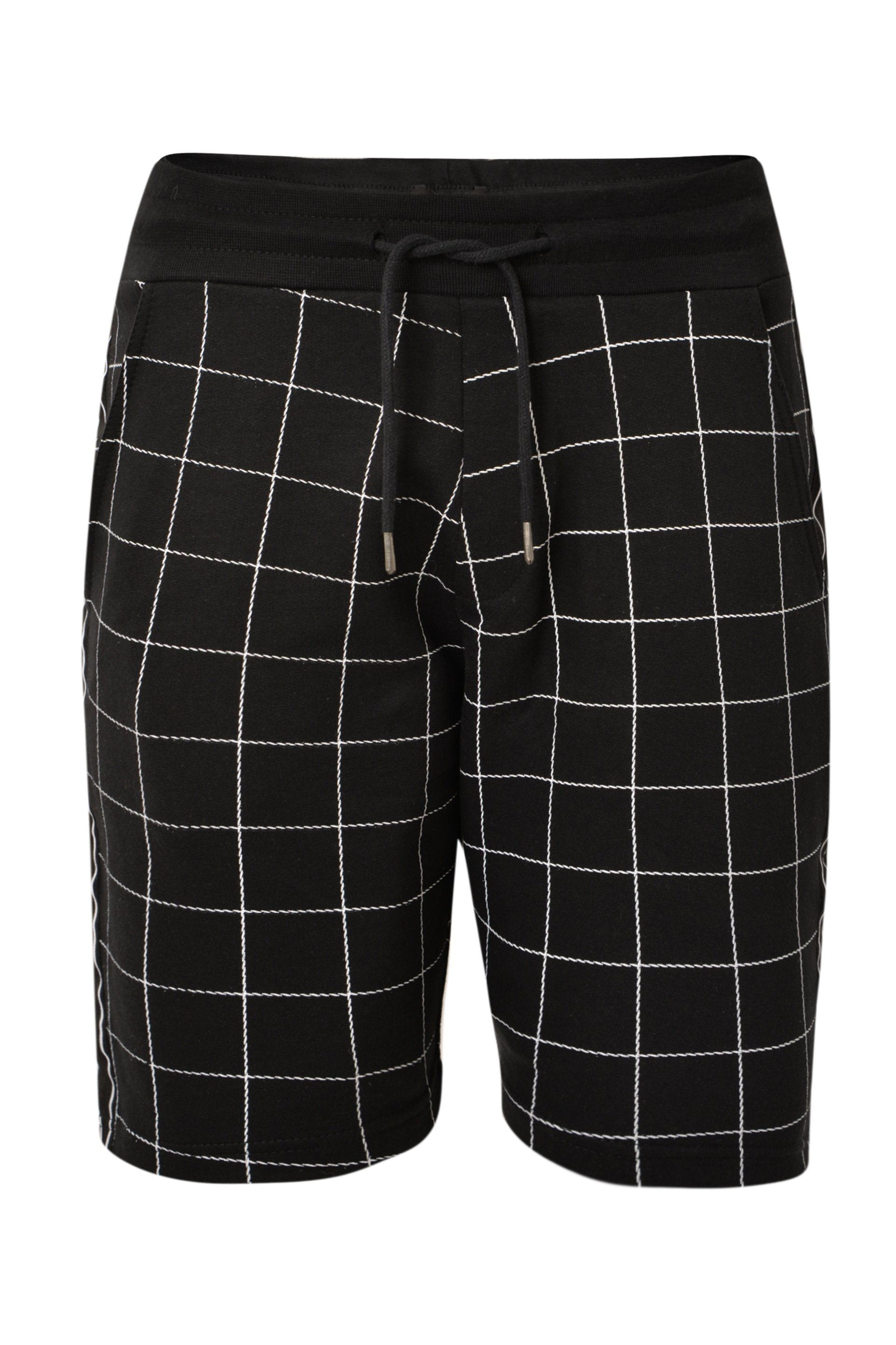 T-Shirts - Grid Shorts Black
