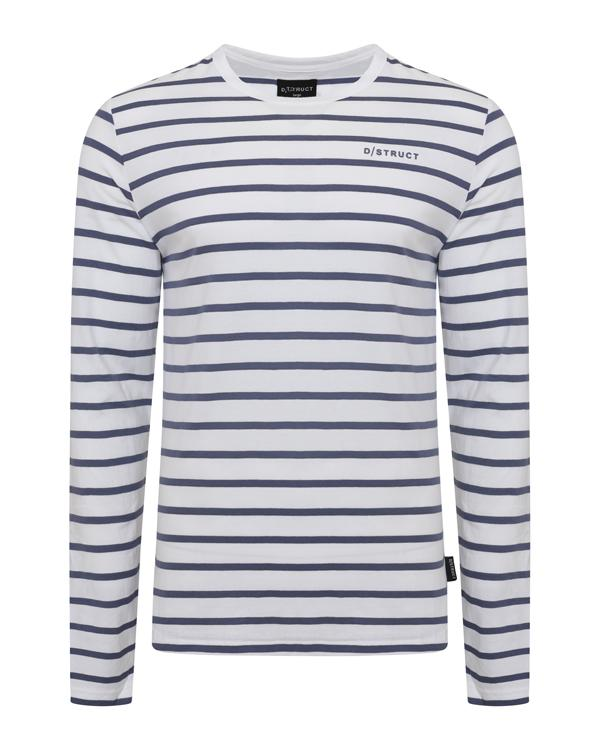 T-Shirts - Long Sleeve Striped T-Shirt
