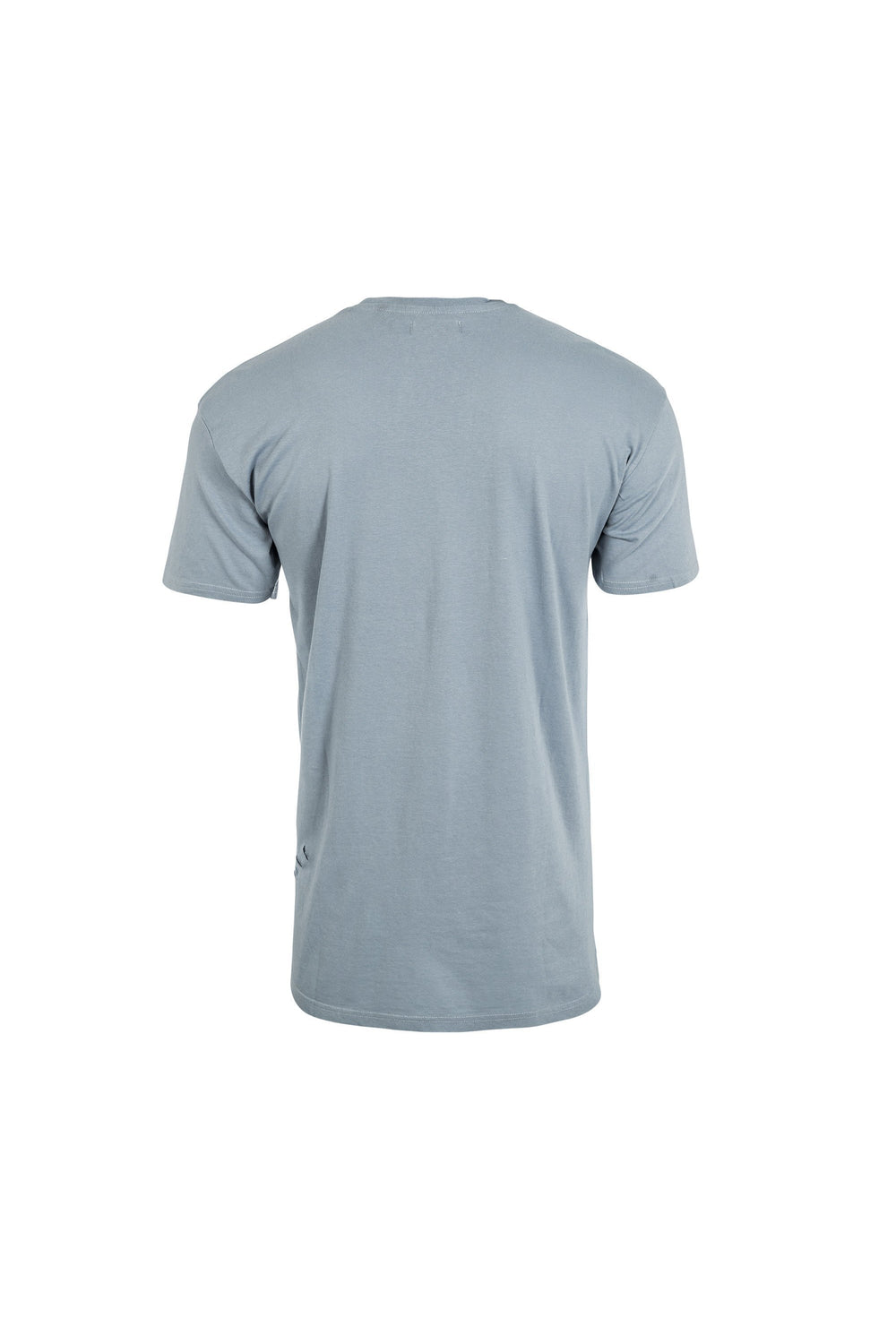 T-Shirts - Longline Oversize Ripped T-Shirt Dusty Blue