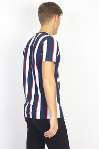 T-Shirts - Parlor Stripe T-Shirt Navy
