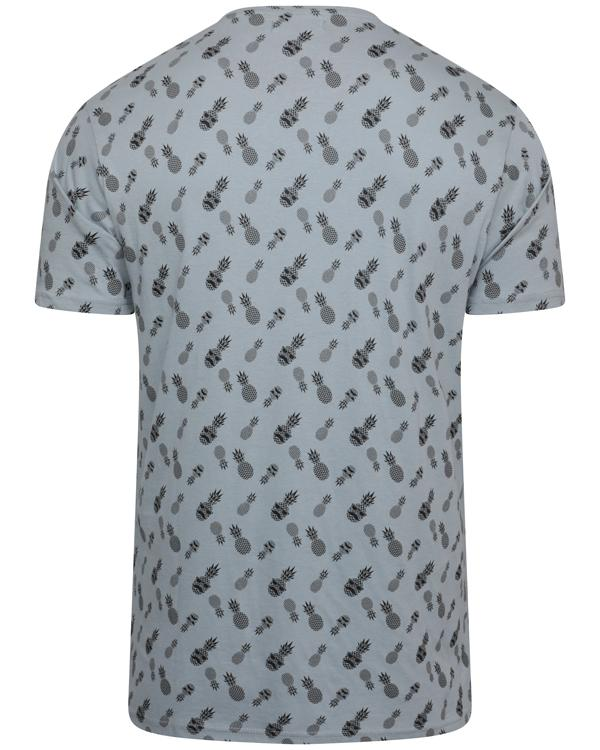 T-Shirts - Pineapple T-Shirt Dusty Blue