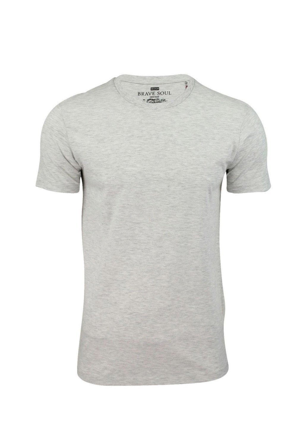 T-Shirts - Raw Edge T-Shirt Oatmeal Marl