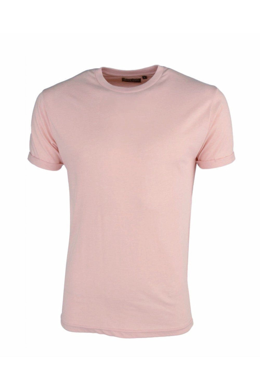 T-Shirts - Roll Sleeve T-Shirt Dusty Pink