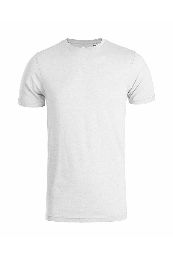 T-Shirts - Roll Sleeve T-Shirt Oatmeal