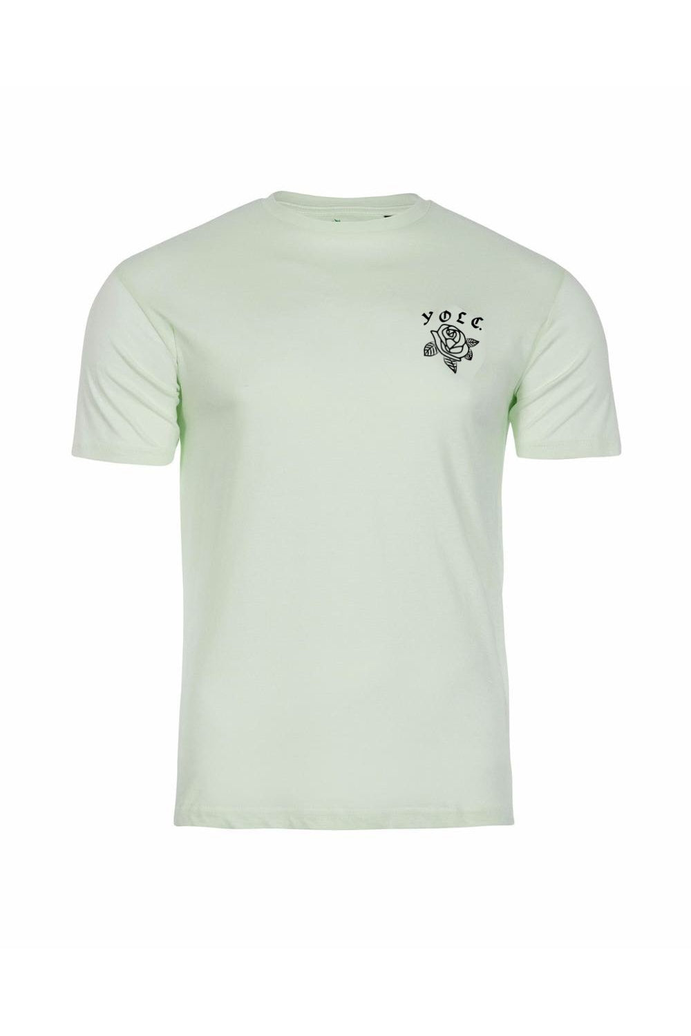 T-Shirts - Rose T-Shirt Mint