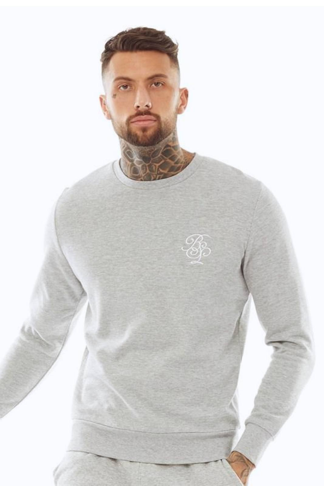 T-Shirts - Script Sweater Grey
