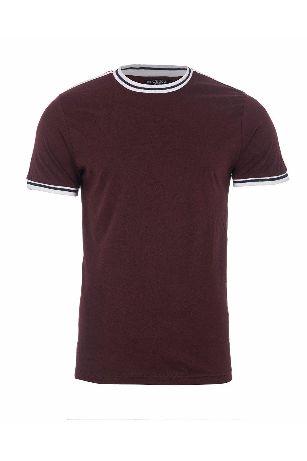 T-Shirts - Speed Stripe T-Shirt Plum