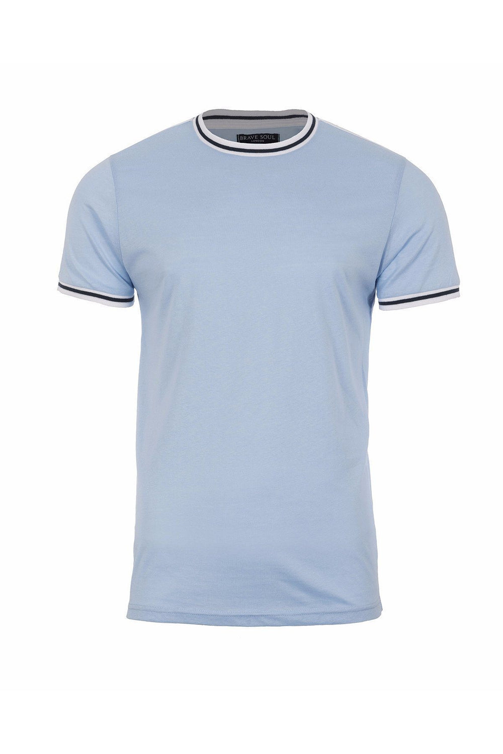 T-Shirts - Speed Stripe T-Shirt Sky Blue