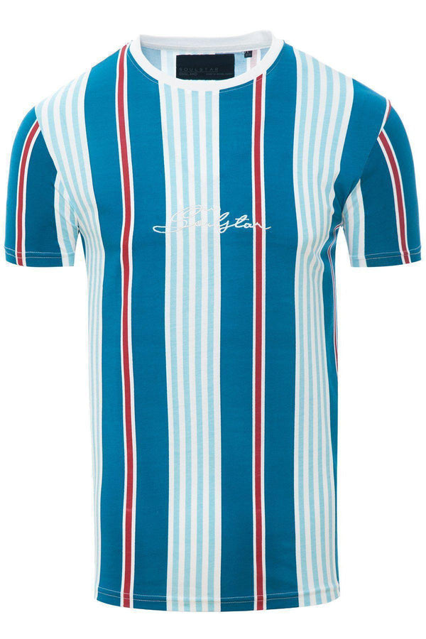T-Shirts - Stripe Signature T-Shirt Blue
