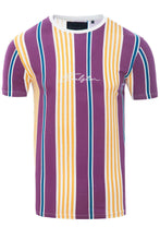 Load image into Gallery viewer, T-Shirts - Stripe Signature T-Shirt Purple