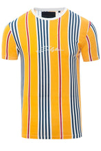 Load image into Gallery viewer, T-Shirts - Stripe Signature T-Shirt Yellow