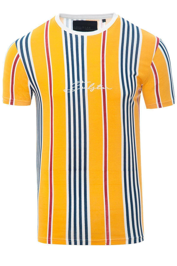 T-Shirts - Stripe Signature T-Shirt Yellow