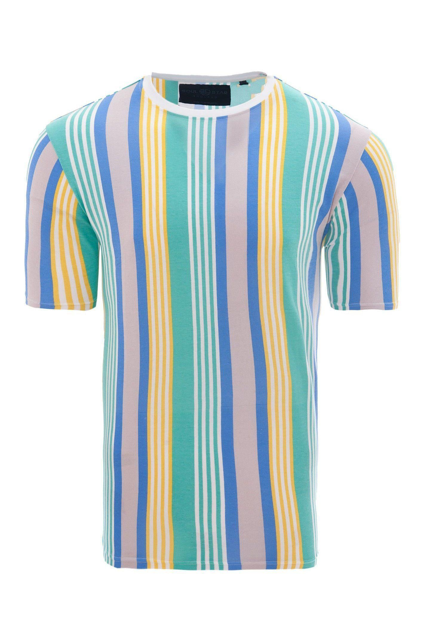 T-Shirts - Stripe T-Shirt Pastel Mint