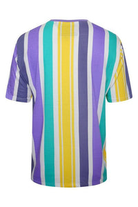 T-Shirts - Stripe T-Shirt Pastel Yellow