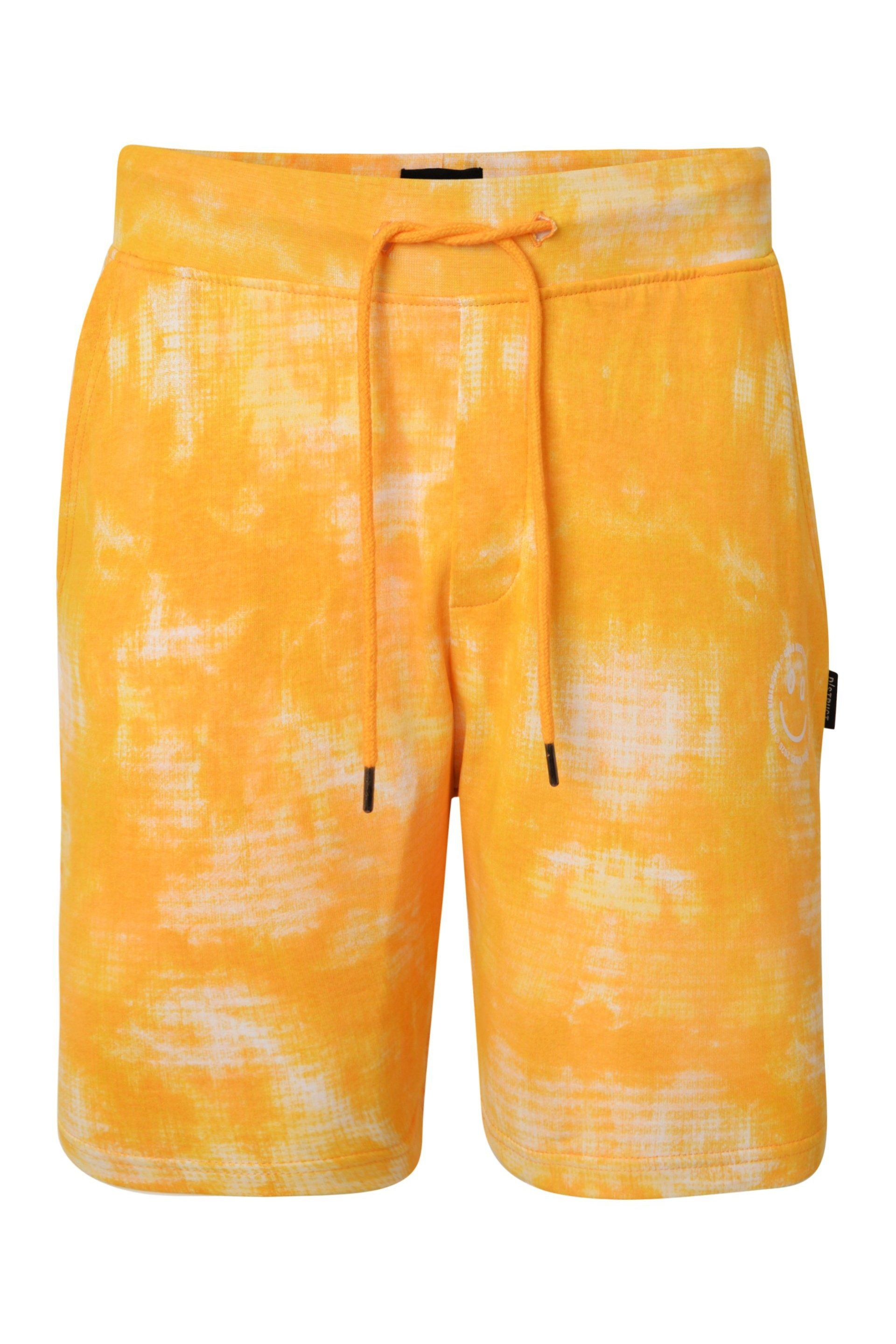 T-Shirts - Tie Dye Shorts Yellow