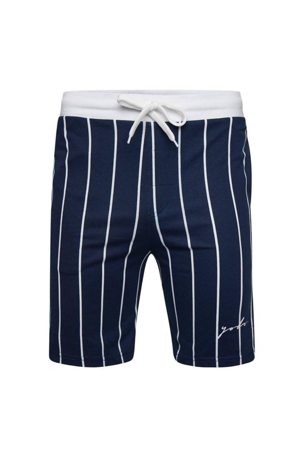 T-Shirts - Vertical Signature Shorts Navy