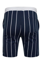 Load image into Gallery viewer, T-Shirts - Vertical Signature Shorts Navy