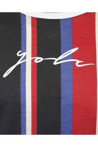 T-Shirts - Vertical Signature T-Shirt Multi Red