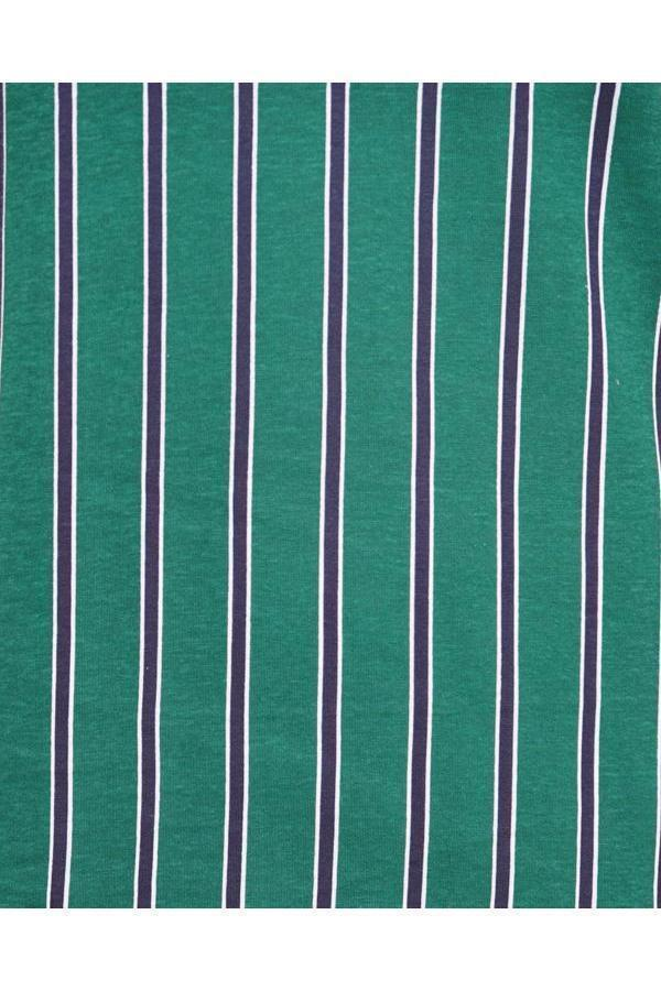 T-Shirts - Vertical Stripe T-Shirt Green