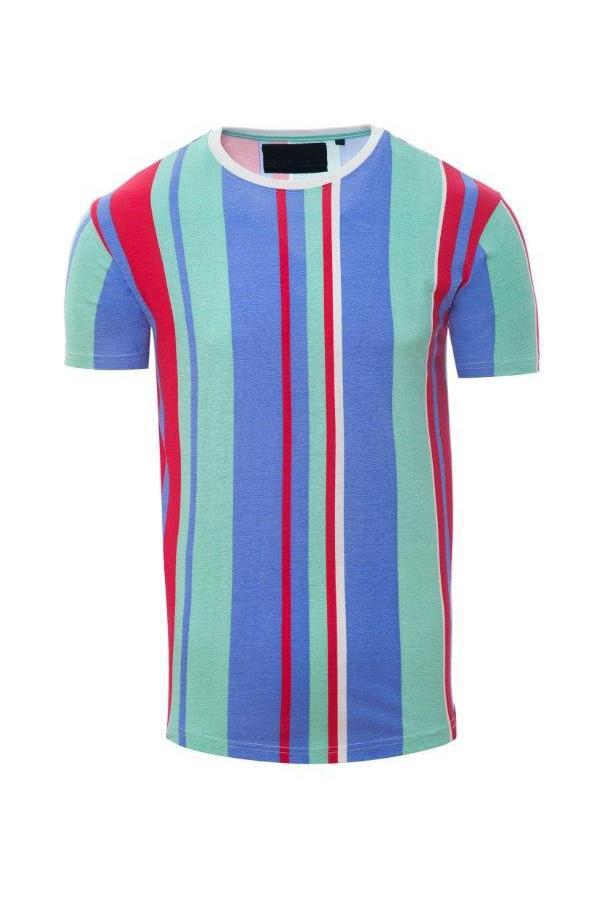 T-Shirts - Vertical Stripe T-Shirt Mint